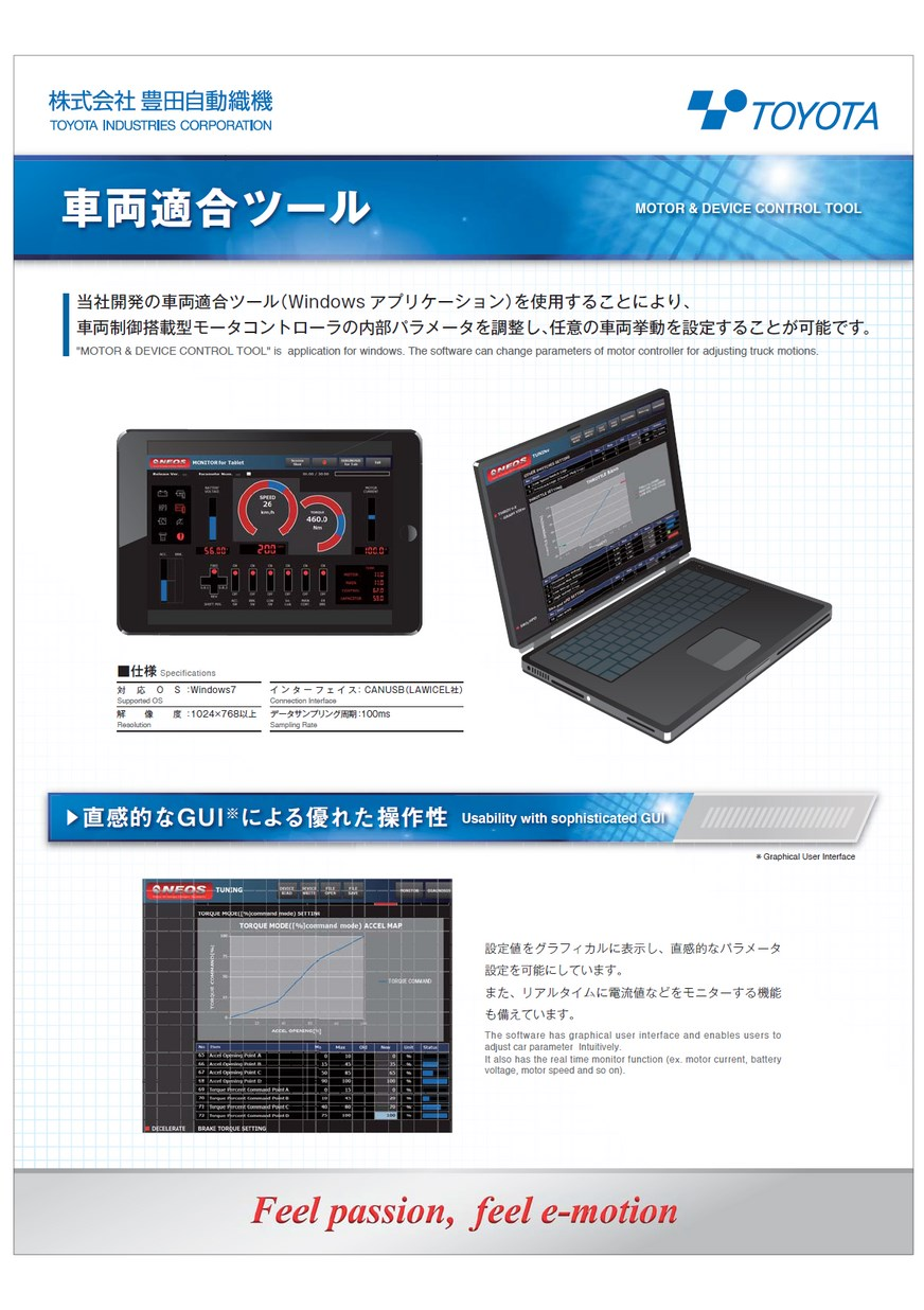 Vehicle calibration tool (Written in Japanese)